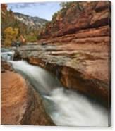 Oak Creek In Slide Rock State Park Canvas Print