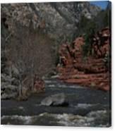 Oak Creek Surging Canvas Print