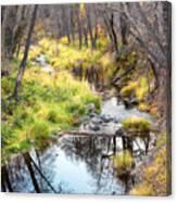 Oak Creek Twilight Canvas Print