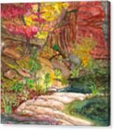 Oak Creek West Fork Canvas Print