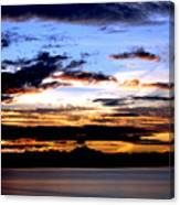 Oak Harbor Sunrise Sr 1002 Canvas Print