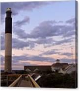 Oak Island Lighthouse Canvas Print