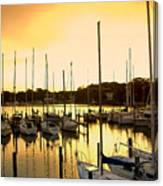 Oak Point Harbor Canvas Print