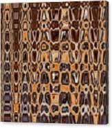 Oak Stump Abstract Canvas Print