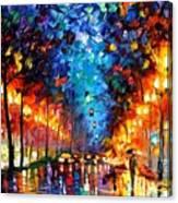 Oakland Rain Canvas Print