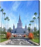 Oakland Temple No. 1 Canvas Print