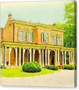 Oaklands Mansion Canvas Print