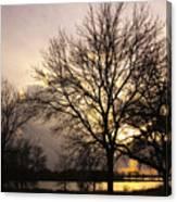 Oakwood Lakes Sunset Canvas Print