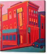 Oasis Diner Burlington Vt Canvas Print