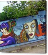 Oaxaca Graffiti Canvas Print