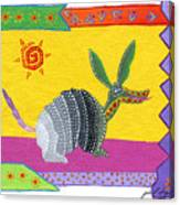 Oaxacan Armadillo Canvas Print