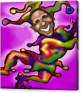 Obama Jester Canvas Print