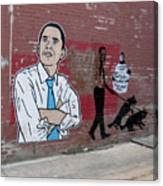 Obama Pride Canvas Print