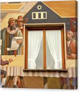 Oberammergau Frescoe Canvas Print