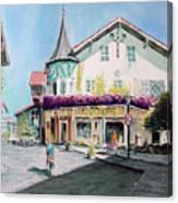 Oberammergau Street Canvas Print