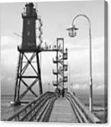 Obereversand Lighthouse - North Sea - Germany Canvas Print