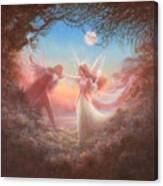 Oberon And Titania Canvas Print