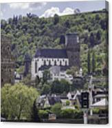 Oberwesel Old And New Canvas Print