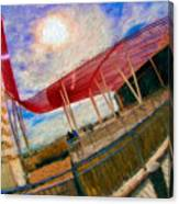 Observation Tower Circuit Of The Americas Canvas Print