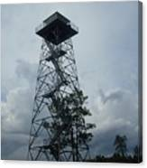 Ocala National Forest Fire Tower Canvas Print