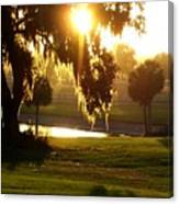 Ocala Sunset Canvas Print