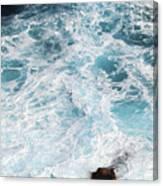 Ocean Abstract Canvas Print