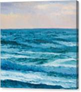 Ocean Art 2 Canvas Print