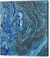 Ocean Blue 2 Canvas Print