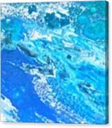 Ocean Blue -tac Canvas Print