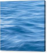 Ocean Blur Canvas Print