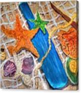 Ocean Bounty Canvas Print