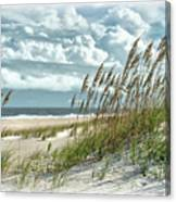 Ocean Breeze At Fort Fisher - Number One Canvas Print