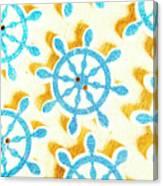 Ocean Circles Canvas Print