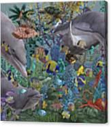 Ocean Circus Canvas Print