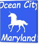 Ocean City Md Canvas Print