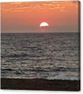 Ocean City Sunrise Canvas Print