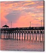 Ocean Crest Pier Canvas Print