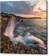 Ocean Drive Sunrise Canvas Print
