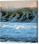 Ocean Energy At Sunrise Canvas Print