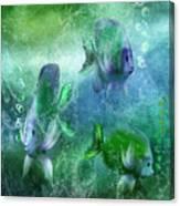 Ocean Fantasy 4 Canvas Print