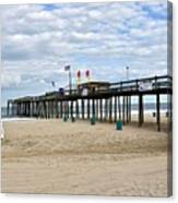 Ocean Fishing Pier Canvas Print