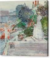 Ocean Front, Gloucester, Massachusetts Canvas Print