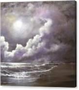 Ocean Grove Moon Canvas Print