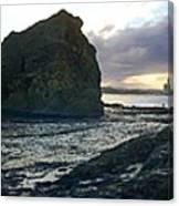 Ocean Headland Panorama Canvas Print