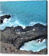 Ocean Inlet Canvas Print