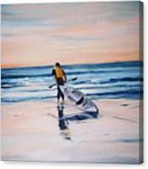 Ocean Kayak Canvas Print