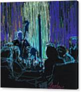 Ocean Lounge Jazz Night Canvas Print