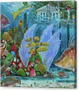 Ocean Reef Paradise Canvas Print