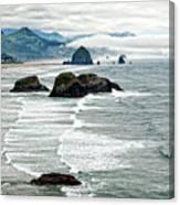 Ocean Rocks Off The Oregon Coast Canvas Print