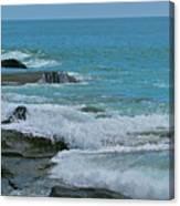 Ocean Roll Canvas Print